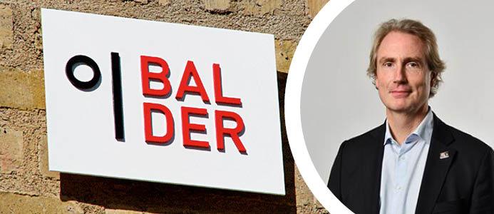 Erik Selin, vd Balder. Foto: Balder