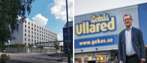 Gekås bygger nytt shoppinghotell ett stenkast från varuhuset. Bild: Gekås Ullared