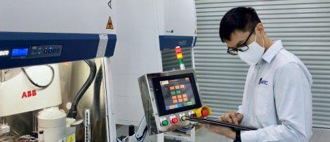 ABB-robotar snabbar upp testning för Covid-19