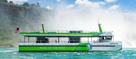 Passagerarfartyg vid Niagarafallen elektrifieras med teknik från ABB