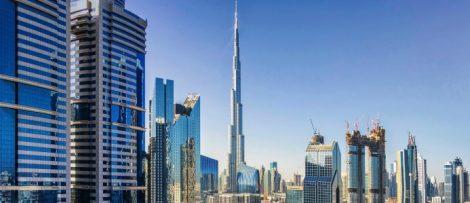 världens högsta byggnad burj khalifa