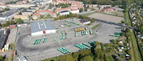 bussdepå Malmö laddalliansen