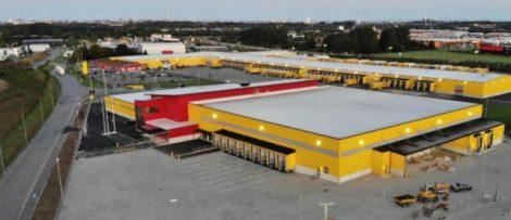 DHL nya logistikanläggning i Malmö