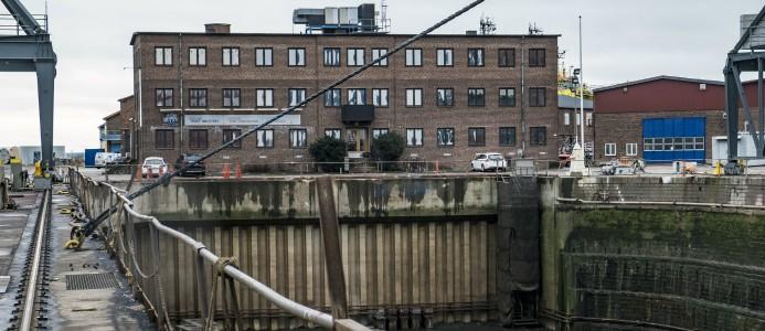 dry docks landskrona