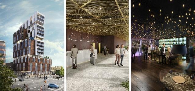 Hemsö utvecklar nytt kommunhus och hotell i Trelleborg