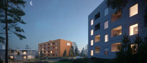 Serneke bygger nya bostäder i Kiruna åt beställaren LKAB