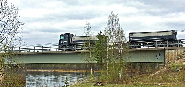 1,2 miljarder investeras i vägarna Kaunisvaara-Svappavaara, enligt ett avtal mellan Trafikverket och Kaunis Iron.