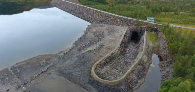 Skanska renoverar vattenkraftsdammar i Norge