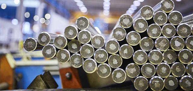 stålproduktionen minskar