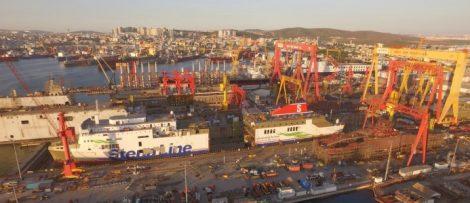 Stena Line förlänger fartyg för att öka kapaciteten