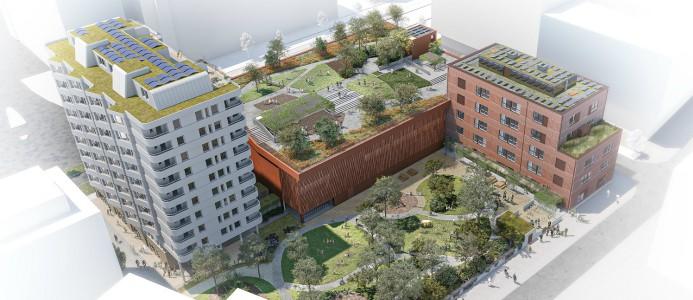 NCC bygger Skandia Fastigheters nya kvarter i Västra Hamnen i Malmö