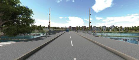 Peab bygger Stridsbergsbron i Trollhättan