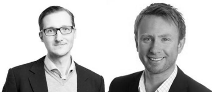 Per Wåhlin och Ted Mattsson. Foto: Archus