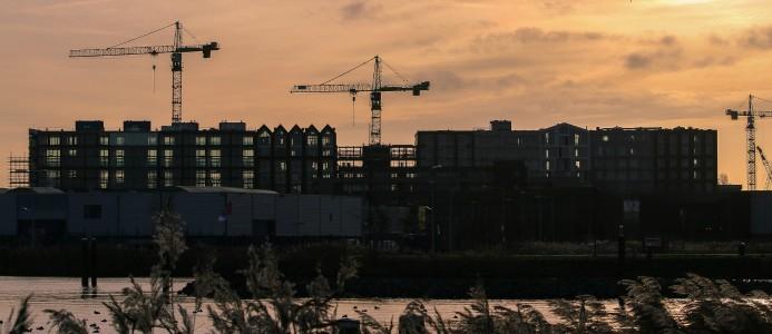 Nya siffror från Eurostat visar på minskad aktivitet inom byggsektorn under september.