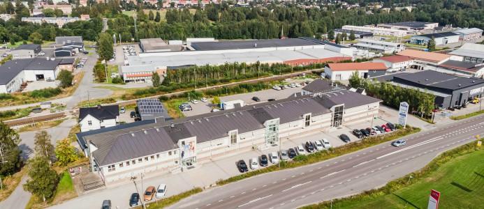 diös avyttrar fastigheter i Sundsvall