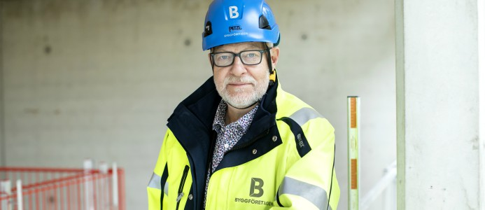Berndt Jonsson, nationell arbetsmiljösamordnare på Byggföretagen
