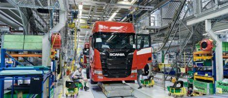 scania etablerar lastbilstillverkning i kina