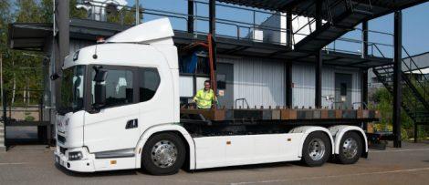 Scania investerar en miljard i ny batterifabrik i Södertälje