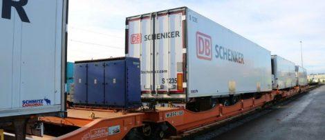 Schenker AS och Green Cargo testar nya kylvagnar