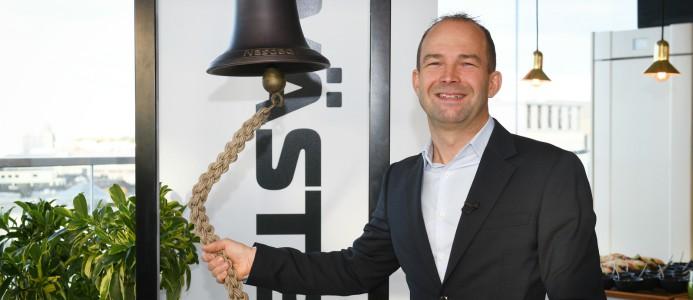 Jörgen Andersson vd Wästbygg Gruppen
