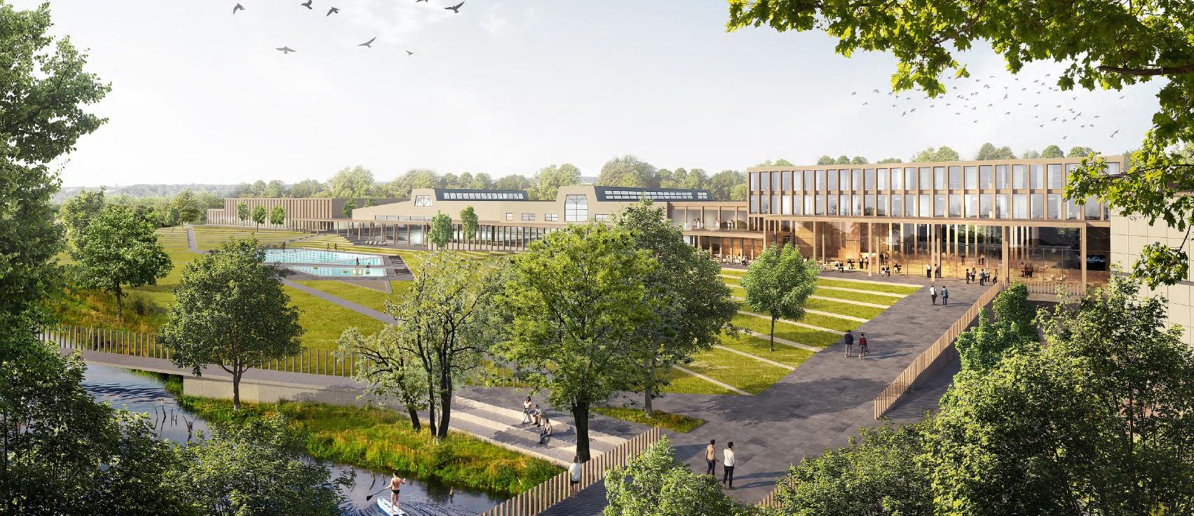 Vinnande arkitekt är White Arkitekter med förslaget Norra Stadsparken.
