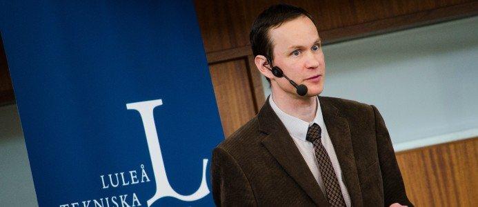 Arne Nykänen, biträdande professor inom teknisk akustik vid Luleå tekniska universitet. Foto: Örjan Johansson