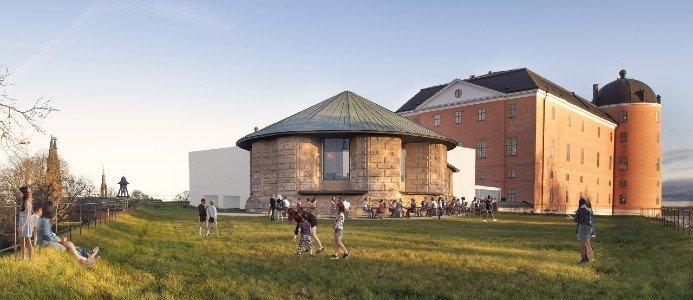 Bastionen, den forna kungliga trädgården, blir en ny vistelseplats för Uppsalaborna. Här finns generösa ytor med utblickar i alla riktningar. Här finns också möjlighet till café, lek, utställningar och andra typer av evenemang. Fotograf: Lewan Arkitektkontor