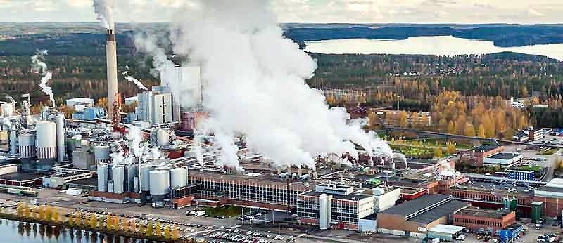 Imatra-bruket i Finland. Bild: Stora Enso