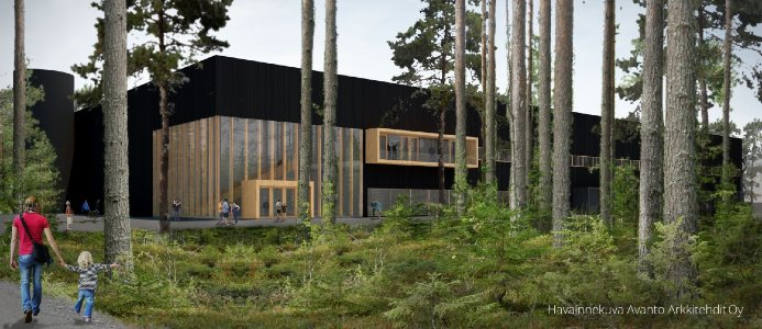 Fastigheten kommer bli 12 000 m2 och stå redo för inflytt 2021. Pressbild Logicenters