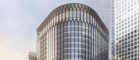 YY London, 30 South Colonnade. Bild: Skanska